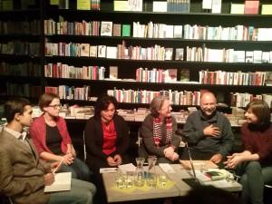 Дебати в книгарні видавництва Хаймон